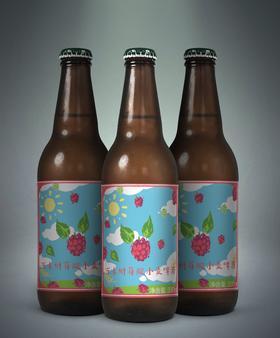 万未精酿 树莓小麦 6瓶套装