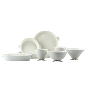 陶溪川 简约创意碗碟套装 家用碗筷