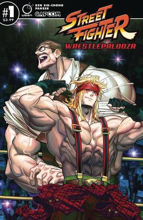 街头霸王 Street Fighter Wrestlepalooza
