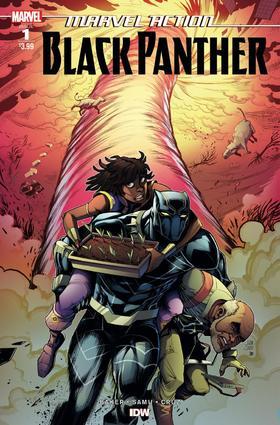 黑豹 Marvel Action Black Panther