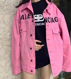 新款‼️Blc 19ss angel baby 江疏影同款 粉色牛仔衬衫 颜色超好看! 又是特殊的牛仔面料 大爱!
