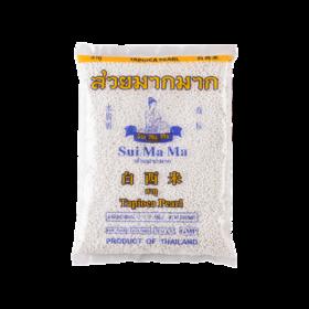 水妈妈白西米500g 泰国进口小西米 椰浆西米露奶茶甜点原料