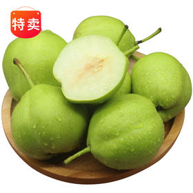 陕西早酥梨3斤 8个/5斤 16个(爽果乐)