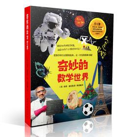 万物皆数学!奇妙的数学世界(全4册)把数学和生活联结起来,让一切变得简单有趣!