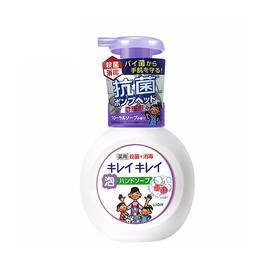 日本 LION/狮王儿童全植物泡沫洗手液 百花香型 250ml