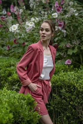 Vivian Blazer 粉色西装外套