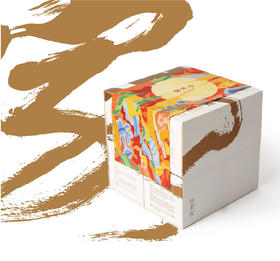磨功夫严选 | 俗画说仲秋月饼多变的神奇礼盒 携手百年字号月饼 好玩又好吃(8块月饼+8袋桂花乌龙)