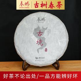 2019普洱茶吧春畅珍藏系列古境古树春茶生普洱茶357g