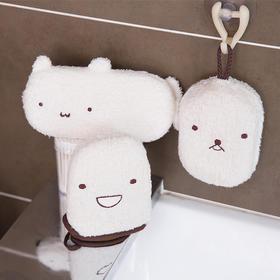 FaSoLa 免搓洗澡巾 手套加厚后背搓背巾搓泥搓澡巾