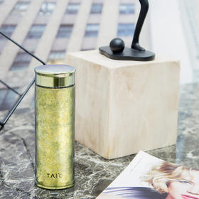 TAI℃/钛度 英国TAIC钛度纯钛真空保冷杯保温杯彩色超轻商务户外水壶养生礼品水杯