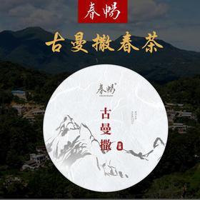 2019年普洱茶吧春畅珍藏古曼撒选株古树春茶易武生茶200g