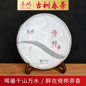2019普洱茶吧春畅珍藏系列倚邦选株古树春茶生茶200克