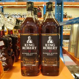 罗伯特国王威士忌1L
