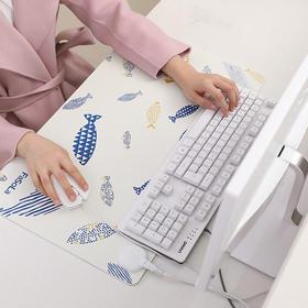 FaSoLa 发热暖桌垫 加热女超大鼠标垫学生桌面书写暖手发热垫办公