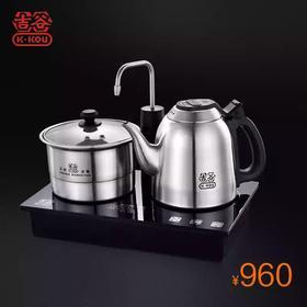 吉谷TC0102电热水壶不锈钢304食品级自动上水电热水壶