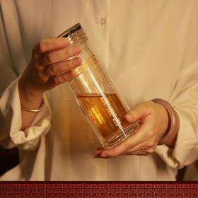 单盖大悲咒水晶杯-便携六字大明咒