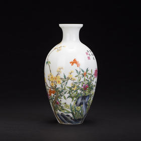 花卉图玉米瓶
