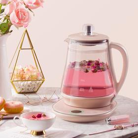 SKG养生壶全自动加厚玻璃电热烧水壶煮花茶家用煮茶器多功能防烫8055