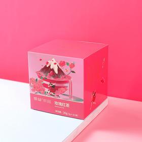 【买一送一】玫瑰红茶袋泡茶干花草茶三角茶包养生美颜茶女玫瑰花茶送礼