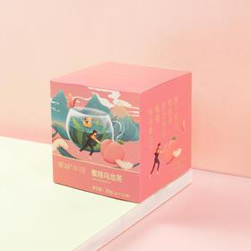 蜜桃乌龙茶袋泡茶干蜜桃乌龙茶三角茶包花茶水果茶包10包装