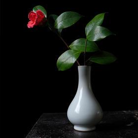 怀景堂 汝窑单支花瓶
