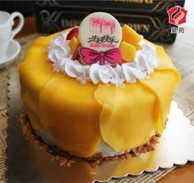 【清爽这个夏天】芒果物语~芒果夹心天然淡奶蛋糕