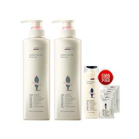 阿道夫精油洗护专研洗发水洗发香乳 清爽滋养修护香氛洗发水