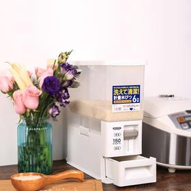 日本Asvel防虫防蛀自动出米桶 可计量