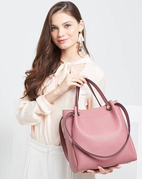 麦包包西尔维娅软袋子系列手提单肩包