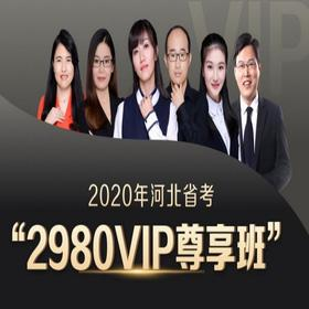 2020河北省VIP尊享班(1300+超长课时,46册图书礼包,超强师资,超全课程,VIP服务)