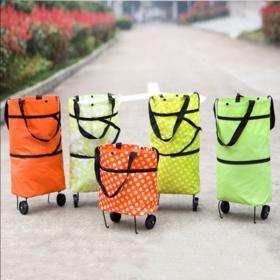 【用TA一年能省好几百】便携折叠购物车 手拉车折叠车 购物拉杆车 买菜小拖车 拖轮购物袋