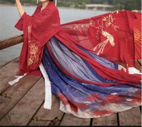 儒家汉服女中国风唐装齐胸襦裙彼岸花古装汉元素