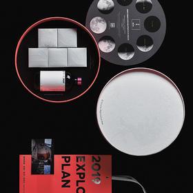 【预售 8月25号发货 】自然造物X涩品 探月计划中秋礼盒(月饼+酒)可定制