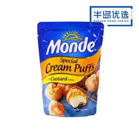 菲律宾进口【3袋:外酥里甜 甜而不腻】道吉草奶油夹心泡芙25g*3