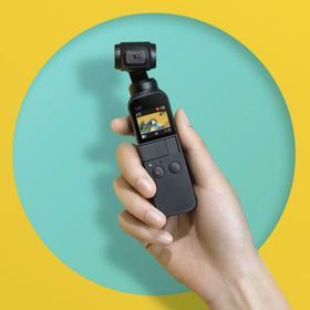 「VLOG拍摄神器」DJI大疆灵眸 Osmo pocket 口袋云台相机 迷你手持云台相机 高清增稳