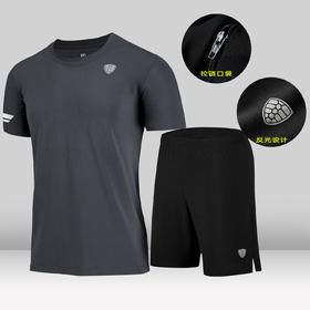 运动套装男夏季篮球运动服新款运动装短袖健身短裤跑步速干运动衣