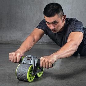 智能计数自动回弹健腹轮  实时智能记录  稳固防滑塑形