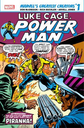 卢克 凯奇 True Believers Luke Cage Power Man Piranha