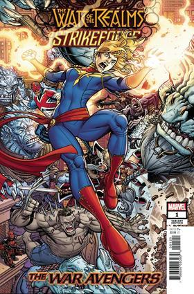 诸界之战 War Of Realms Strikeforce War Avengers