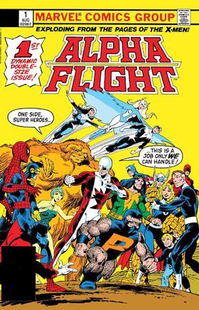 阿尔法战队 Alpha Flight Facsimile Edition
