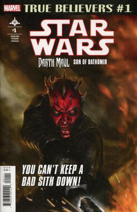 星球大战 True Believers Star Wars Darth Maul