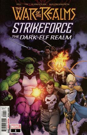 诸界之战 War Of Realms Strikeforce Dark Elf Realm