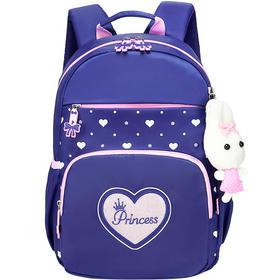 迪士尼书包女小学生书包 公主儿童书包学前班减负双肩背包休闲包NB3374