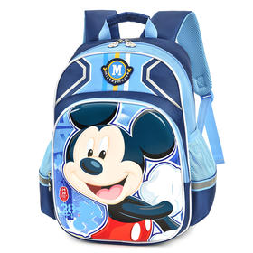 迪士尼小学生书包男女儿童背包3D立体1-3年级米奇白雪公主卡通双肩书包NB3186