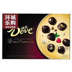 德芙品鉴可可黑巧克力礼盒