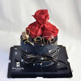 【浪漫爱神】告白玫瑰蛋糕