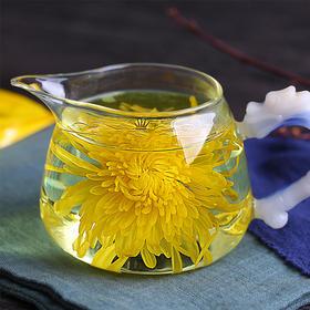 【江西金丝皇菊】清新淡雅,一朵一杯,金黄透亮,香浓醇厚