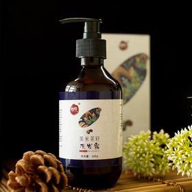 瑶族古法 黑米发酵茶籽洗发露  草本植物洗发液 轻松解决各种发质问题 控油防脱 解决断发脱发、头发、头皮油腻