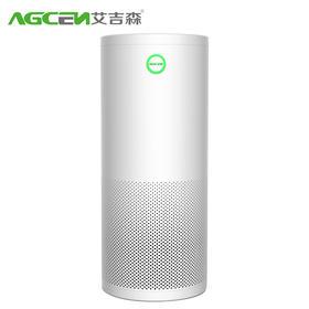 艾吉森至尊TKJ600F-T01智能家用空气净化器静音除甲醛PM2.5雾霾除二手烟型T01负离子会所办空气净化器 白色