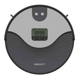 SWEAFT 扫地机器人P6S-B 全自动路线规划家用擦地拖地一体机超薄智能吸尘器